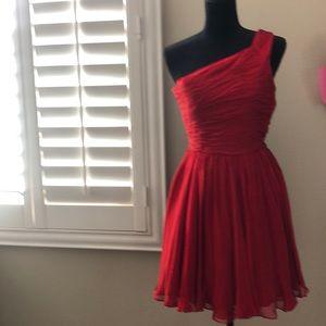 Halston Silk Cocktail Dress